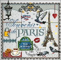 Souvenir de Paris from Madame la Fee - click to see more