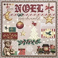 Un Noel Enchante from Madame la Fee - click to see more
