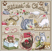 Betises de Chats from Madame la Fee - click to see more