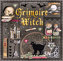 Grimoire from Madame la Fee - click to see more