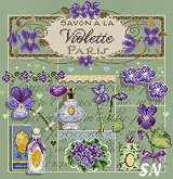 Savon a la Violette from Madame la Fee - click to see more