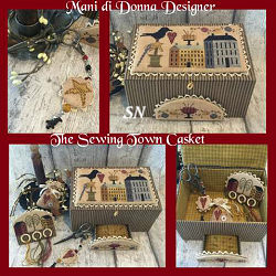 The Sewing Town Casket from Mani di Donna - click for more