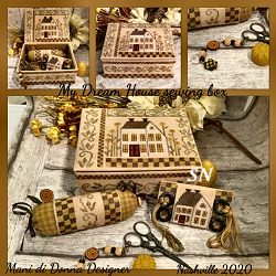 My Dream House Sewing Box from Mani di Donna - click for more