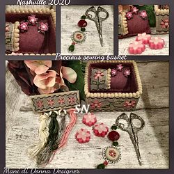 Precious Sewing Basket from Mani di Donna - click for more