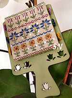 Mani Di Donna #1 Hornbook -- Flowers - click to see more