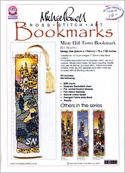 Misty Hill Town Bookmark Kit from Michael Powell - click for more