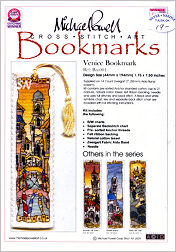 Venice Bookmark Kit from Michael Powell - click for more