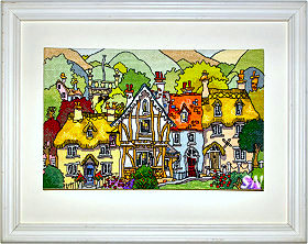 English Village I from Michael Powell - click for more
