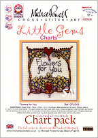 Little Gem Flowers for You Chart from Michael Powell - click for more