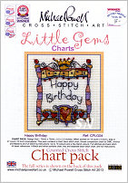 Little Gem Happy Birthday Chart from Michael Powell - click for more