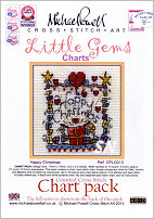 Little Gem Happy Christmas Chart from Michael Powell - click for more