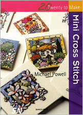 20 To Make - Mini Cross Stitch from Michael Powell - click for more