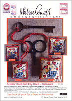 Scissor and Key Keep Kit X100 CUPCAKES from Michael Powell - click for more