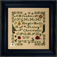 A Spot of Christmas from Midnight Stitching - click to see more