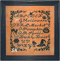 A Spot of Halloween from Midnight Stitching - click to see more