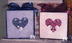 Heartstruck Friends from Midnight Stitching - click to see more
