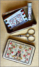 Sweetheart Sewing Tin from Milady's Needle - click for more