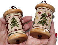 Joyful Yuletide Spools from Milady's Needle - click for more