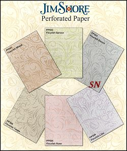 Jim Shore Flourishes Perforated Paper - click for more