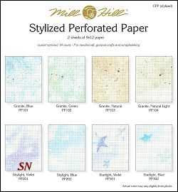 Stylized Perforated Paper - click for more