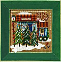 Mill Hill 2006 Buttons & Beads Christmas Village MH14-6306 Tree Farm Kit -- click for more