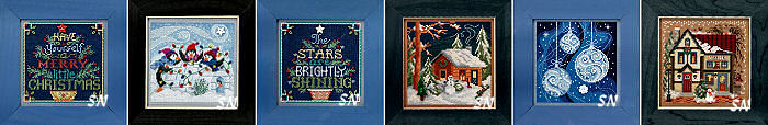 Mill Hill 2018 Mill Hill Christmas Bead Kit Collection - click for more