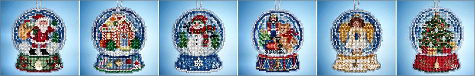 The Snow Globes 2019 Collection from Mill Hill - click for more