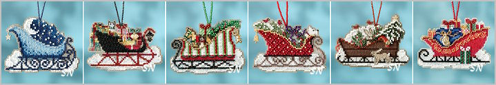 Image result for Mill Hill Sleigh Kits