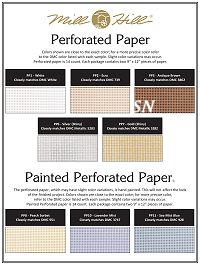 Perforated Paper by Mill Hill -- click to see the rest!