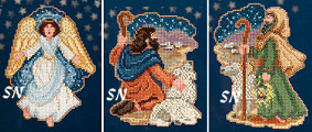 Mill Hill's Nativity Trilogy Kits for 2013 - click for more