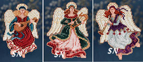 Mill Hill Angel Trilogy - Mini Kits for 2014 - click for more
