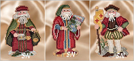 Renaissance Santas from Mill Hill - click for more