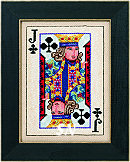 Jim Shore Playing Card finished BB Kit