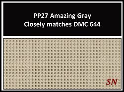 Presenting the NEW Perforated Paper - Amazing Gray from Mill Hill - click for more