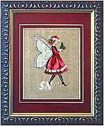 The Christmas Elf Fairy from Mirabilia -- click to see lots more!
