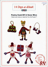 14 Days a Week Pastry Cool Elf & Snow Mice - click for more