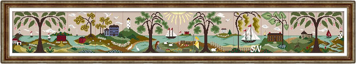Harbor Haven from By the Bay Needleart - click to see more