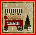 Christkindlmarkt Part Six Pretzel Stand by Pickle Barrel Designs - click to see more