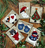 Gift Bag Felt Ornament Kit from Rachels of Greenfield - click to see more