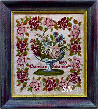 Christian Geissinger 1839 from Victorian Rose Needlearts - click for more