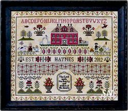 The Haynes Sampler from Annie Beez Folk Art - click to see more