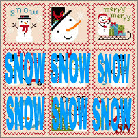 79acabdcd815f Snowy 9 Patch combo from Annie Beez Folk Art - click to see more