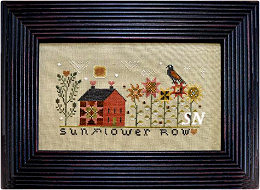 Sunflower Row from Annie Beez Folk Art - click to see more