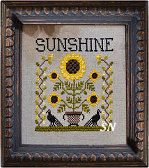 Sunshine from Annie Beez Folk Art - click to see more