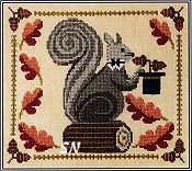 Squirrely Acorn Banquet from Artful Offerings - click for more