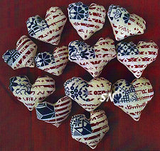 Patriotic Hearts from AuryTM - click to see more