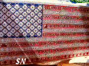 One Nation Offered by ByGone Stitches -- click to see more