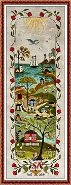 Serenity Harbor from By the Bay Needleart - click to see more