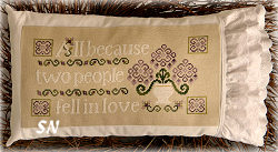 All Because Two People Fell in Love from Cherry Hill Stitchery - click to see more