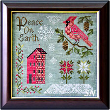 Peace on Earth from Cottage Garden Samplings - click to see more